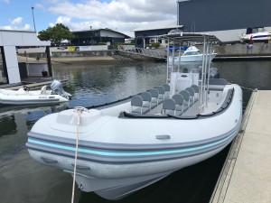AB Oceanus 28 VST RIB