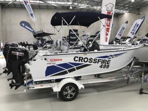 Stacer 499 Crossfire Side Console DF90 Suzuki 2021 Model