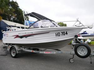 Quintrex 455 Coast Runner CV Runabout