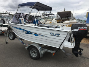 SEA JAY 415 CLASSIC RUNABOUT
