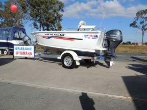NEW QUINTREX 420 RENEGADE T/S WITH F 50 HP PACK  3