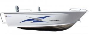 Brand new Horizon 438 & 454 Stryker XPF deluxe tiller steer aluminium boat with pedestal seating.