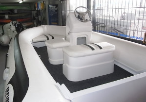 Brand new Explorer NZ 4.2m Executive aluminium side console hypalon RIB.