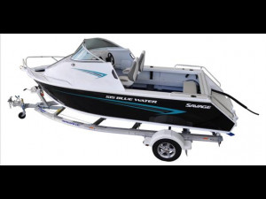Brand new Savage 515, 545, 575 and 615 Blue Water Aluminium cabin boats available as hull only, hull and trailer or complete BMT package with your choice of Mercury outboard now with a 6 year warranty!