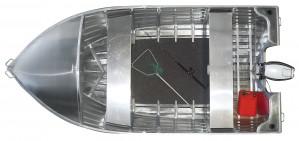 Brand new Horizon 385 Angler open aluminium boat