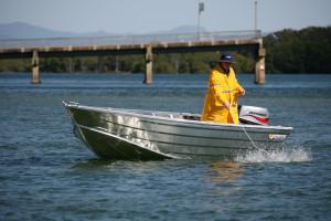 Brand new Horizon aluminium 4.2m Pathfinder V Punt aluminium boat.