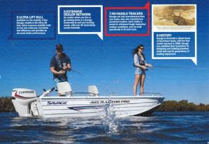 Brand new Savage 515 and 545 Beachcomber aluminium bowriders.