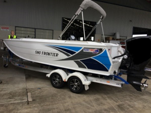 NEW  QUINTREX 590 FRONTIER S.C WITH F 130 YAMAHA FOR SALE PACK 1