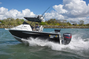 YELLOWFIN 5800 FOLDING HARD TOP - NEW 2019 RELEASE