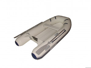 Brand new Mercury 250 Dynamic Hypalon RIB with a fibreglass hull.