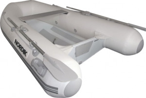 Brand New Nordik 240 Aluminium rigid hull inflatable boat with welded seams reduced from $2999 to $2699!