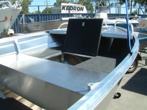 Brand new Horizon 420 Allrounder deep V aluminium boat