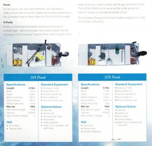 Brand new Horizon 3.15m flat bottom aluminium punt. (3.75m Punt also available)