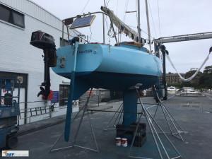 Laurent Giles Trekka 22 foot yacht