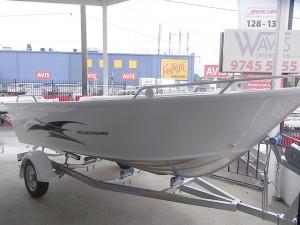 Brand new Horizon 5.25m Easy Fisher aluminium open tiller steer boat.
