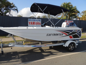 NEW  QUINTREX 530 FRONTIER WITH F 115 YAMAHA Pack 2