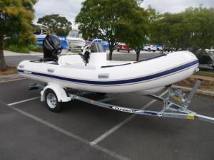 Mercury 460 Ocean Runner Inflatable