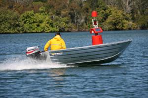 Brand new Horizon 350 Pathfinder V punt aluminium boat.