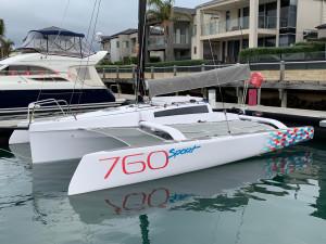 2018 Corsair 760 Sport Trimaran