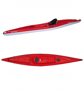 Brand new BIC Scapa sit on top touring kayak which offers excellent value for money.
