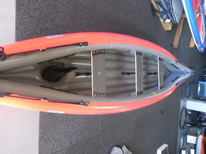 Brand new Gumotex Scout top quality 3 person hypalon inflatable canoe reduced by $200 for a limited time.