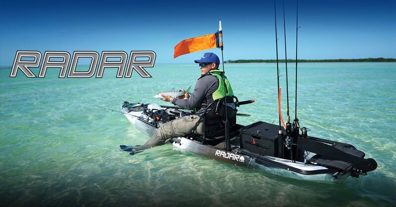 Brand New Wilderness Systems Radar 135 Pedal Powered Fishing Kayak!