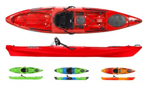 Brand new Wilderness Systems Tarpon 120 Sit on top touring kayak.