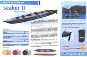 Brand new Gumotex Seaker 1 & Seaker 2 (double) top quality inflatable sea kayaks.  Both models reduced by $500