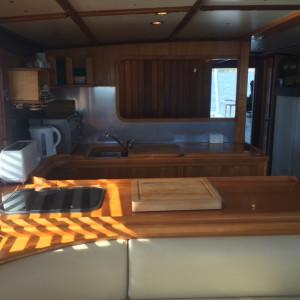 Watkins Converted Timber trawler