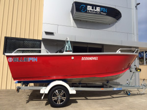 New 4.5 Bluefin Scoundrel With 60HP  Four Stroke