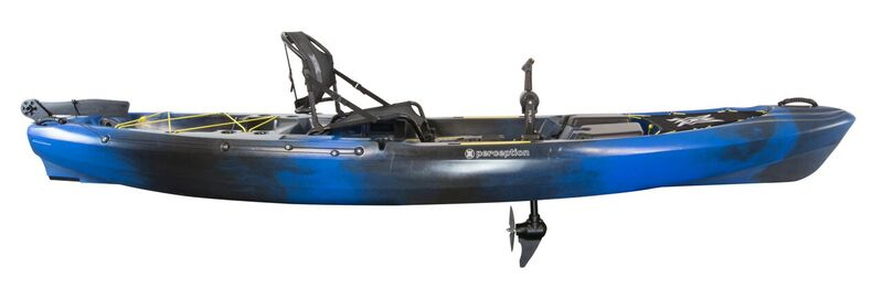 Brand new Perception Pescador Pilot 12.0 Pedal drive  fishing kayak.