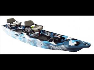 Brand new Feel Free Lure II tandem sit on top kayak.