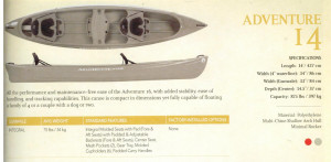 Brand new Mad River Adventure 14 3 seater canadian canoe in stock. (larger Adventure 16 also available)