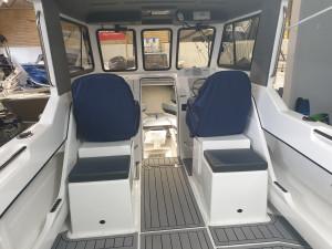 750 Hard top Northbank, twin 200hp Mercury V6 & Easy tow alluminium trailer