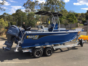 6500 YELLOWFIN Centre Console 150HP PACK 1