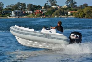 AB Nautilus 14 DLX Inflatable RIB