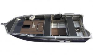 Bluefin Alloycraft J455 Tiller
