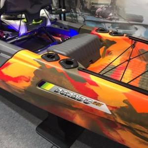 Brand new Feel Free Dorado 125 Pedal kayak with optional motor drive!