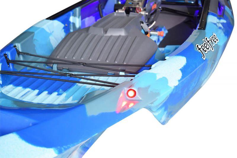 Brand new Feel Free Dorado 125 Pedal kayak with optional