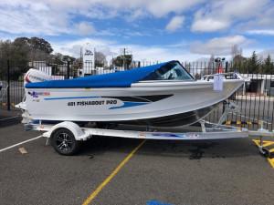 2019 Quintrex 481 Fishabout Pro