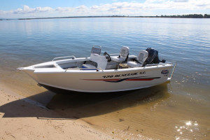 NEW QUINTREX 420 RENEGADE  S/C  WITH F 50 HP PACK  4