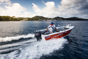 NEW  QUINTREX 420 RENEGADE T/S WITH F 50 HP PACK  4