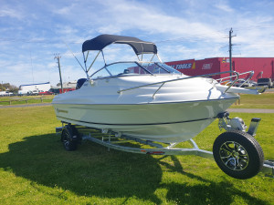 500 Cuddy Northbank, 75hp Mercury 4 stoke and Easy tow  Trailer