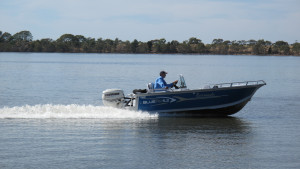New 4.8 Bluefin Barracuda with 60HP Four Stroke Outboard