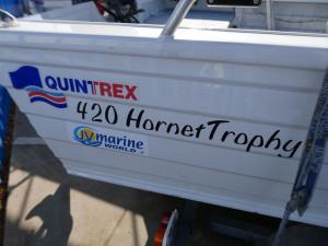Quintrex 420 Hornet Trophy