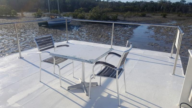 45ft Bridge Deck Houseboat
