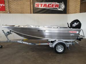 389 Territory, 25hp Mercury 4 stroke & trailer