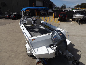 Stacer 539 Sunmaster SVS Runabout 2010 Model - Excellent condition - F80 Yamaha,  Low hours - alloy trailer included.