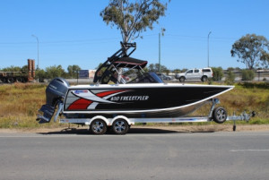 Quintrex Freestyle 630 Our Pack 4 with a F 200 Yamaha
