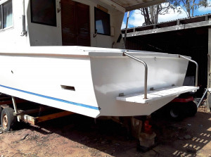 32ft Hartley Cabin Cruiser